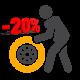 Шиномонтаж со скидкой 20%